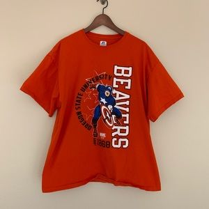 3/$15 Oregon State Beavers Captain America tee